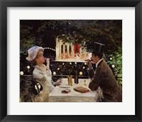 Framed Dinner at Les Ambassadeurs