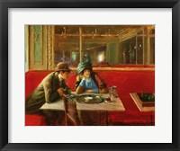 Framed At the Cafe