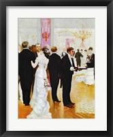 Framed Wedding Reception