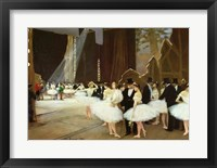 Framed In the Wings at the Opera House, 1889