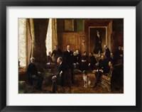 Framed Salon of the Countess Potocka, 1887