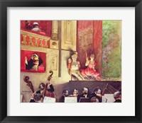 Framed Cafe Concert