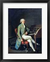 Framed Maximilien de Robespierre