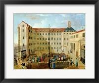 Framed Shackling the Prisoners at Bicetre, 1791
