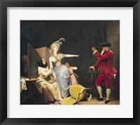 Framed Jealous Old Man, 1791