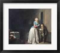 Framed Visit Received, 1789