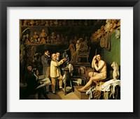 Framed Studio of Jean Antoine Houdon
