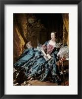 Framed Madame de Pompadour, 1756