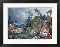 The Chinese Fishermen Framed Print