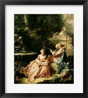 Framed Music Lesson, 1749