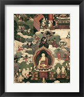 Framed Life of Buddha Sakymuni