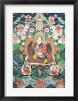 Framed Tanka of Padmasambhava