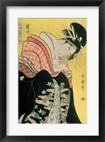 Framed Takigawa from the Tea-House, Ogi
