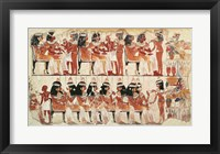 Framed Banquet scene, from Thebes