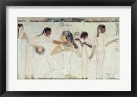 Framed Toilet of Noblewomen, from the Tomb of Rekhmire