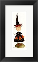 Halloween: Trixie's Candy Corn Framed Print