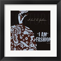 Designers Fashion Framed Print