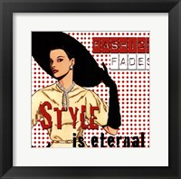 Fashion Fades Framed Print