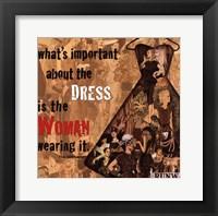 Best Dress Framed Print