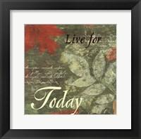 Framed Pressed Leaf Today