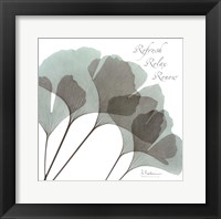Gingko Sea II Framed Print