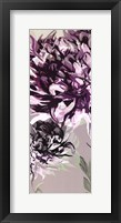 Purple Allure I Framed Print