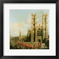 Framed Procession of the Knights of the Bath