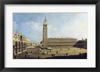 Framed Piazza San Marco, Venice