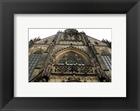 Framed Gothic Architecture Cathedral