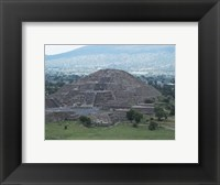 Framed Pyramid of the Moon Teotihuacan
