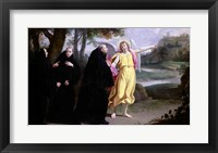 Framed Scene from the Life of St. Benedict