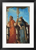 Framed Jewish Women at the Balcony, Algiers, 1849