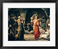 Framed Dance of the Handkerchiefs, 1849