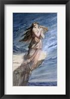 Framed Death of Sappho