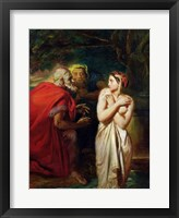 Framed Susanna and the Elders, 1856