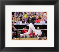Framed Carlos Gonzalez 2011 Action