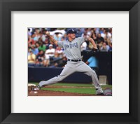 Framed Mat Latos 2011 Action