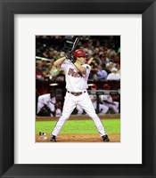 Framed Willie Bloomquist 2011 Action