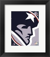 Framed New England Patriots 2011 Logo