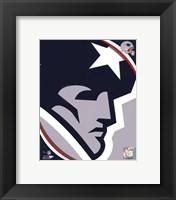 Framed New England Patriots 2011 Logo