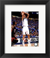 Framed Dirk Nowitzki Game 5 of the 2011 NBA Finals Action(#22)