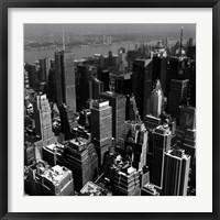 Framed Manhattan to Brooklyn