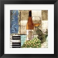 Framed Bon Vin