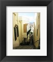 Framed Capri Alley