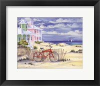 Framed Beach Cruiser Cottage I
