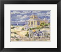 Framed Beach Cruiser Cottage II