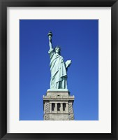 Framed Statue of Liberty, New York City, New York, USA