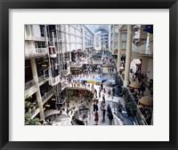 Framed Shopping mall, Eaton Centre, Toronto, Ontario, Canada