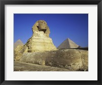 Framed Sphinx, Giza, Egypt