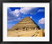 Framed Step Pyramid of Zoser, Saqqara, Egypt